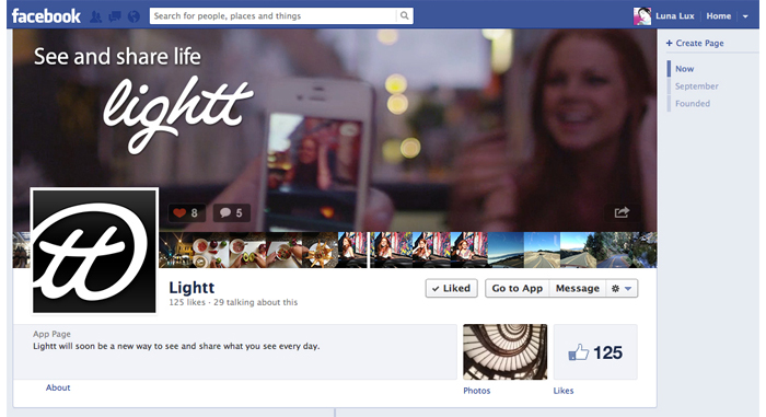 Lightt Facebook Profile